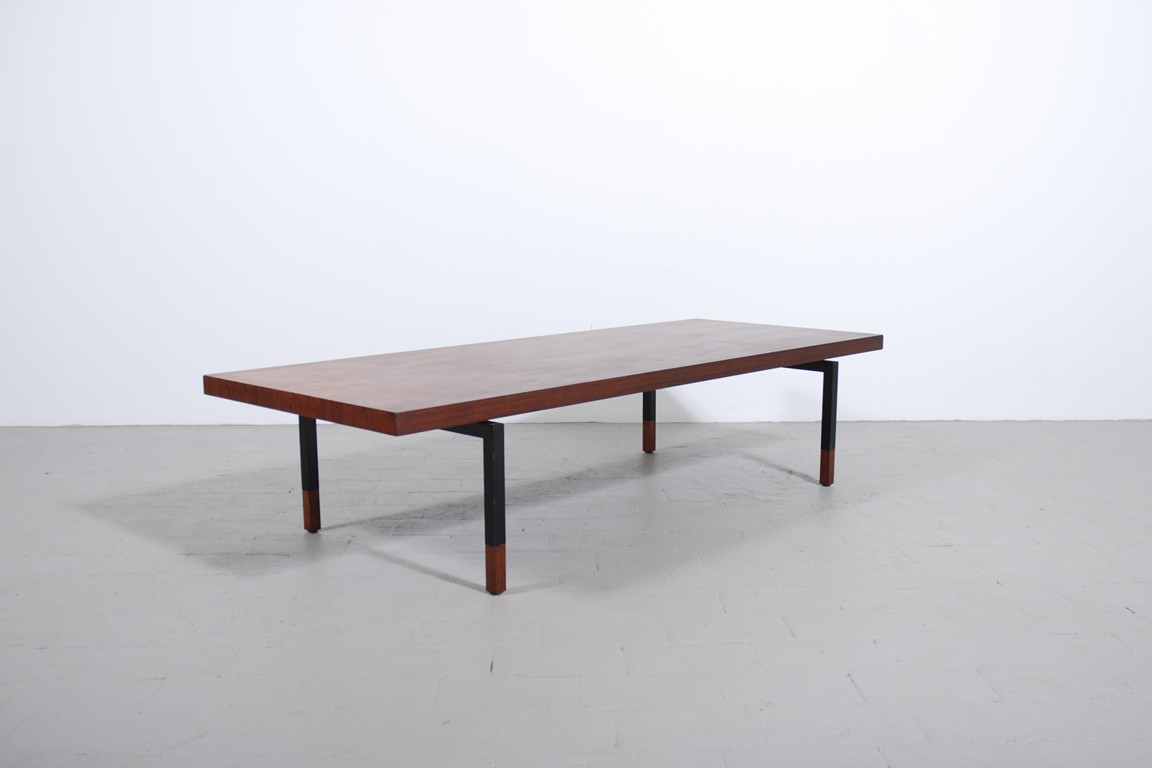 Grande table basse palissandre 1960 jasper - Table basse palissandre ...