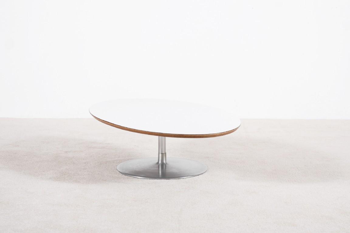 Pierre paulin table basse ovale 1960 jasper - Table basse pierre paulin ...