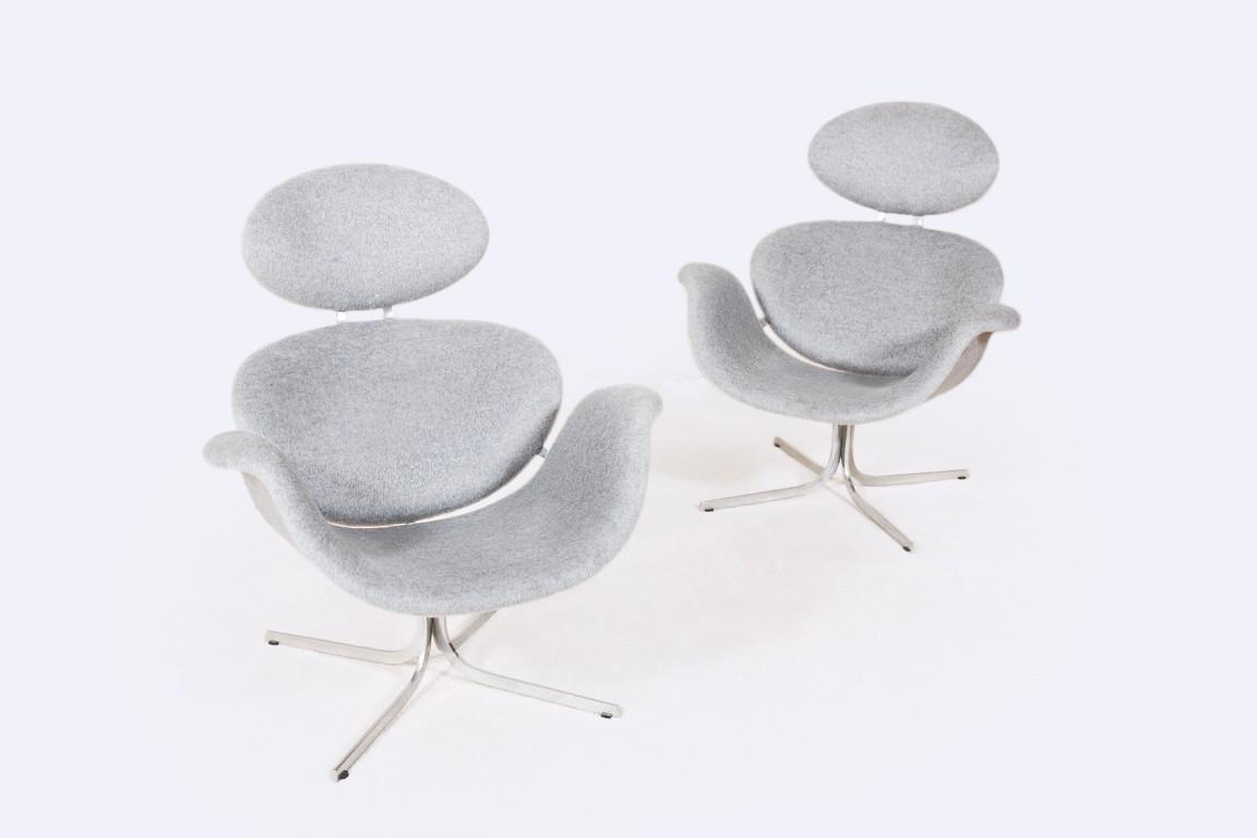 pierre paulin fauteuil big tulip f551 artifort 1950 1960